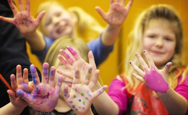 Sverigefinska barnverksamheten från Södertälje församling 2014