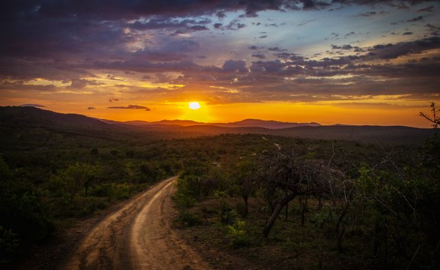 South Africa Sunset by Luca Zanon