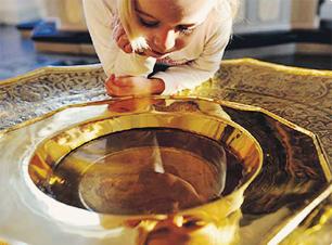 Det är aldrig för sent för dop!