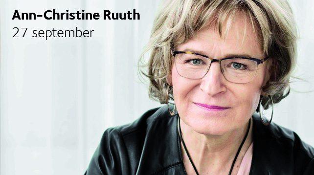 Ann-Christine Ruuth - Vägen till mig själv - föreläsning i Vårfrukyrkan, Fruängen