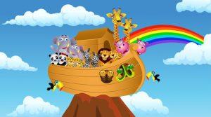 Barn- och ungdomskörerna i Brännkyrka församling ger musikalen Båt på torra land