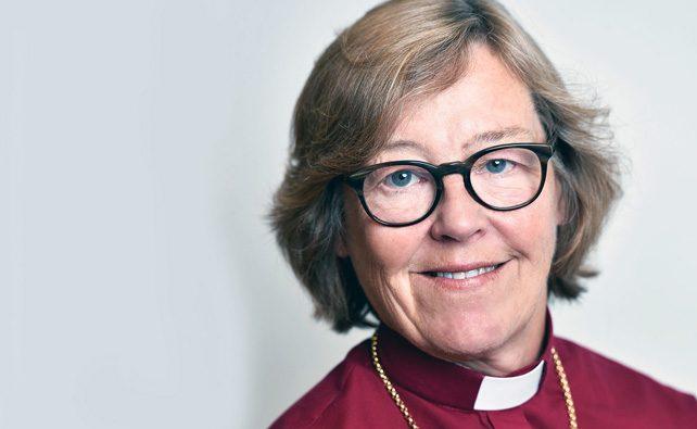 Biskop Eva Brunne kommer till Brännkyrka församling på biskopsvisitation i oktober - Foto Magnus Aronson