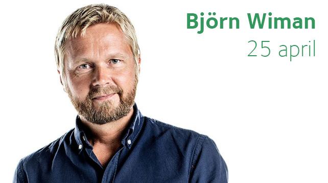 Björn Wiman: Sent på jorden - Afton mellan himmel och jord i Vårfrukyrkan
