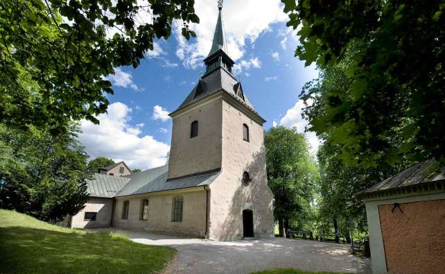 Brännkyrka kyrka i Älvsjö