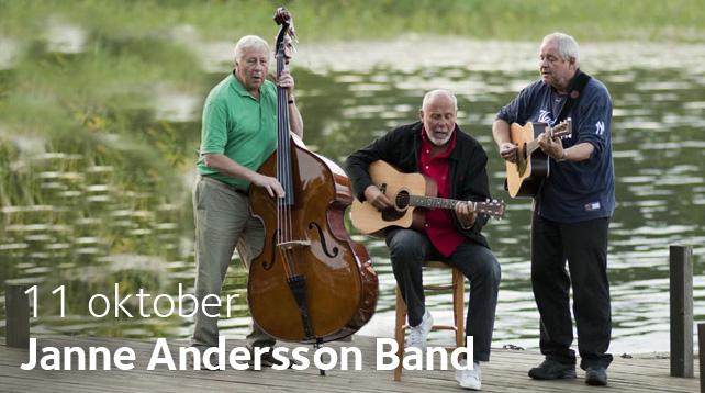 Janne Andersson Band besöker Brännkyrka Kafé