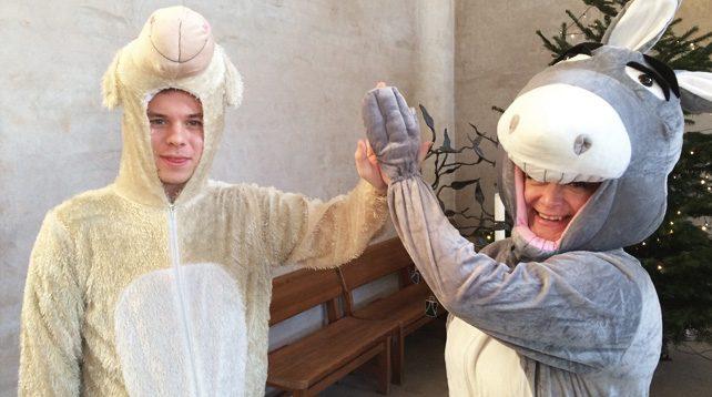 Julvandring i Brännkyrka församling - Brännkyrka kyrka och Vårfrukyrkan