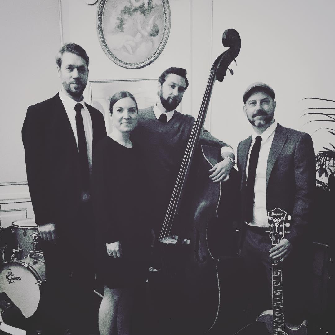Love Supreme Quartet ger lunchkonsert i Vårfrukyrkan
