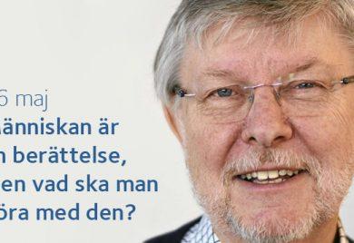 Människan är en berättelse, men vad ska man göra med den - Frukost med Larsåke W Persson i Vårfrukyrkan