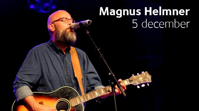 Magnus Helmner med vänner gästar Brännkyrka Kafé