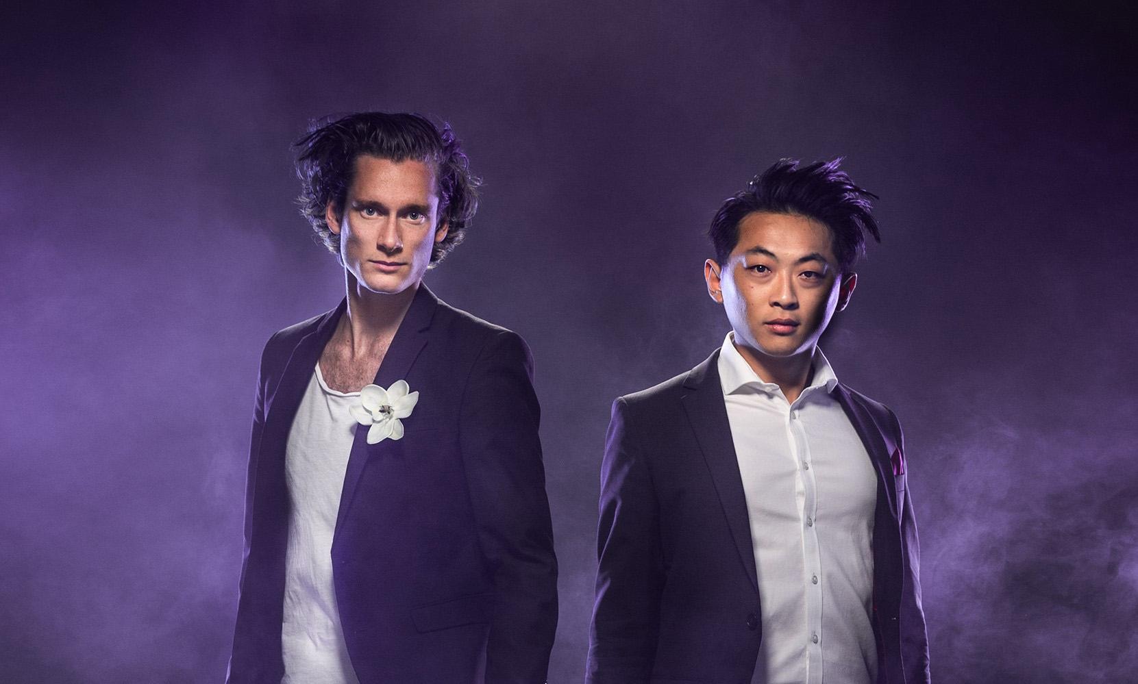 Magnus Holmander och David Huang ger Musik i sommarkväll i Brännkyrka kyrka