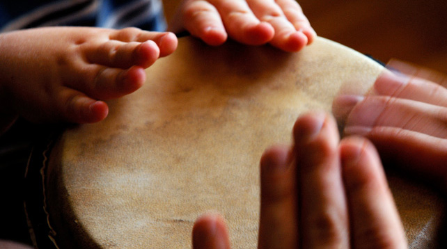 Musiklek för barn 3-5 år