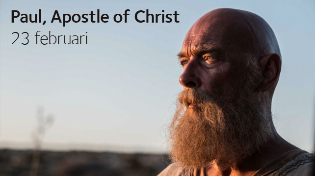 Paul, Apostle of Christ på Eftermiddagsbio i Vårfrukyrkan