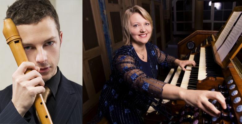 Per Gross och Ligita Sneibe ger lunchkonsert i Vårfrukyrkan