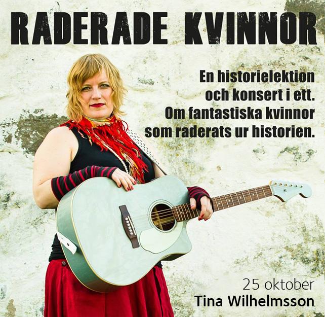 Raderade kvinnor - Tina Wilhelmsson