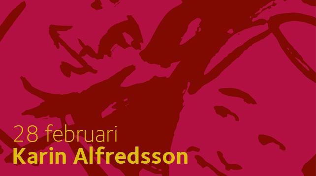 """""""Skrik tyst så inte grannarna hör"""" - Karin Alfredsson gästar Afton mellan himmel och jord i Vårfrukyrkan, Fruängen"""